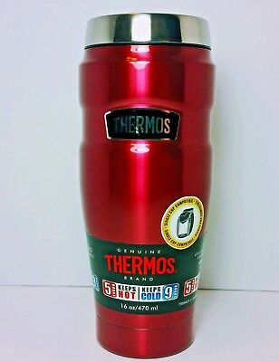 Thermos 16 oz. Stainless King Vacuum Insulated Stainless Steel Travel Mug