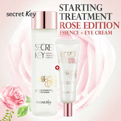 [Secret Key Official] Starting Treatment Essence Rose 150ml + Eye Cream Rose 30g