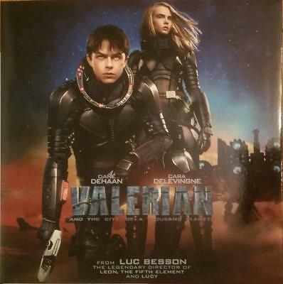 """Valerian and the City of a ... (2017) - DVD - nur englisch - in 12"""" Hülle/Sleeve"""