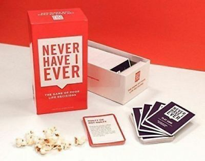Never Have I Ever - Party Game Cards Entertainment Party Funny Game Toy NEW