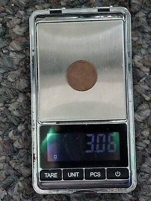 1982 D Large Date Lincoln Memorial Cent (3.06 Grams)