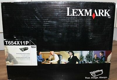 New Genuine Lexmark T654X11P Extra High Yield Black Toner Cartridge (36k Pages)