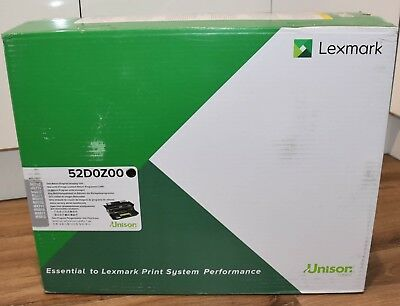 New Genuine Lexmark  Black Toner Cartridge 52D0Z00 Extra High Yield 100K Pages
