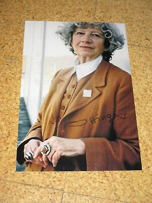 ULRIKE OTTINGER handsigned 8x12 IN PERSON! Guaranteed!