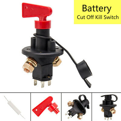 12v FIA Approved Car Battery Kill Switch Master Isolator Cut Off Heavy Duty