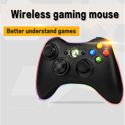 2Wireless/Wired Gamepad Game Controller Joystick for X box 360 without packaging