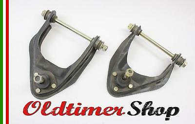 Fiat 124 Spider Coupe front suspension control arms left right upper