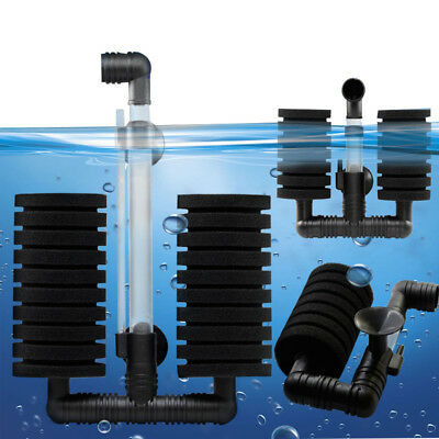 Hot Sale New Practical Aquarium Biochemical Sponge Filter Fish Tank Air Pump