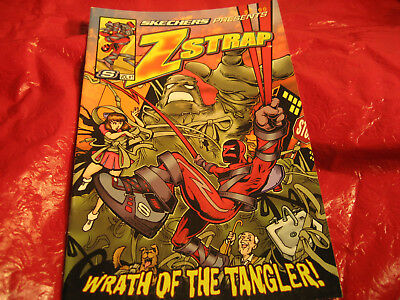 "S VOL # 1 SKECHERS PRESENTS ZSTRAP WRATH OF THE TANGLER 2007-2008 COMIC 9"" x 6"""