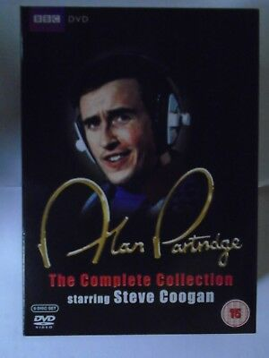 Alan Partridge - The Complete Collection (DVD, 6-Disc Set) NEW & unsealed, T3/T7