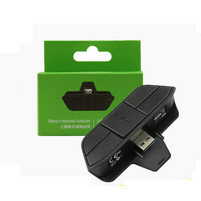 Stereo Headset Headphone Audio Game Adapter For Microsoft Xbox One Controller LK