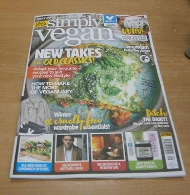 Simply Vegan magazine #9 FEB 2019 New Takes on Old Classics, Ethical Beauty &