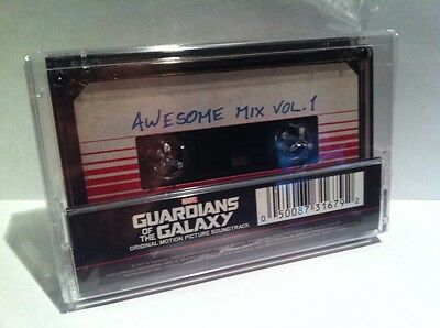 Marvels GUARDIANS Of The GALAXY AWESOME MIX VOL 1 CASSETTE TAPE 2014 Sound Track