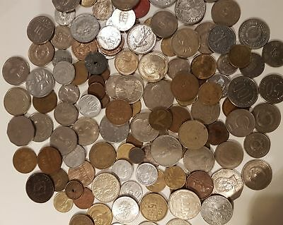 World Coins Mixed 2.5kg Approx.
