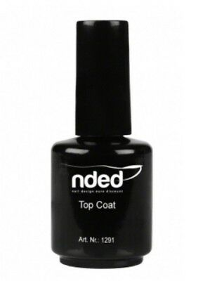NDED Top Coat ou Primer pour Vernis à Ongles Nail Manucure 15ml