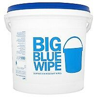 Pal Big Blue Wipe Surface Disinfectant Wipes x 1000 (1000s) SALE NOW ON