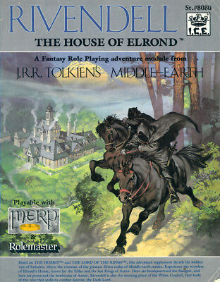 Rivendell the house of Elrond MERP adventure ICE Middle-earth Rolemaster