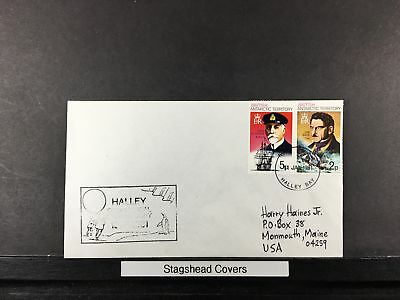 British Antarctic Territory Cover 11 Jan 1981 Ship Penguin Adrien Halley Bay En3