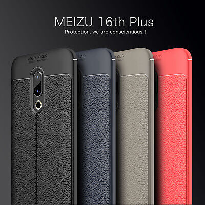 For Meizu 16th 16 Plus M6 Note Slim Silicone Rubber Slim Soft Back Case Cover