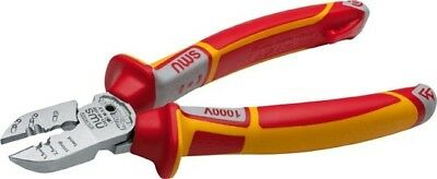 NWS VDE 6-in-1 Electrician's Multi-Function Side Cutter Pliers 190mm