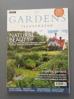GARDENS ILLUSTRATED April 2007 - No 124 - Pruning Fritillaries, Wildlife Gardens