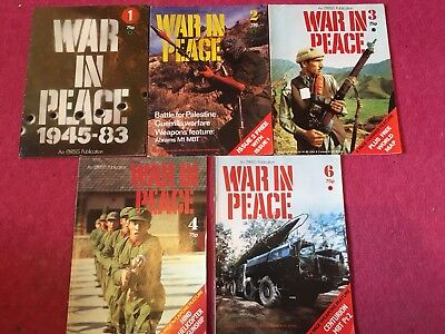 War In Peace Magazines 1980's