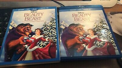 Beauty and the Beast The Enchanted Christmas (Blu-Ray + DVD) No Digital Copy