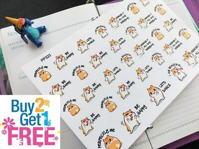 PP323 -- I Love Me Icons Life Planner Stickers for Erin Condren (33pcs)
