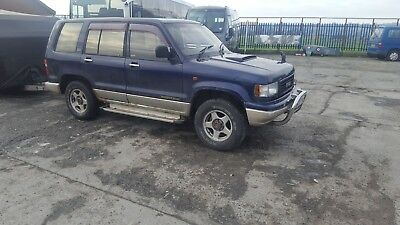 isuzu trooper 3.1 diesel manual