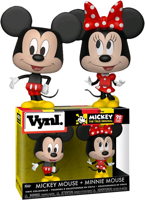 FUNKO Disney - Mickey Mouse & Minnie Mouse Vynl.