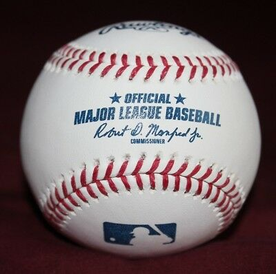 (1) Rawlings Official Major League Baseball (Romlb) -Manfred Stamp- New!