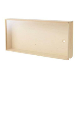 *New* SAMMANHANG  Display Box Birch 50 X 23 cm *Brand IKEA*