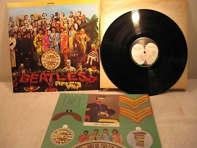 The Beatles ‎– Sgt. Pepper's Lonely Hearts Club Band -Apple SMAS-2653 w/insert