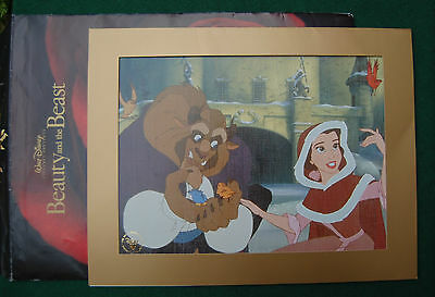 Disney's Beauty and the Beast Lithograph - Movie Memorabilia - Wall Art - 2002