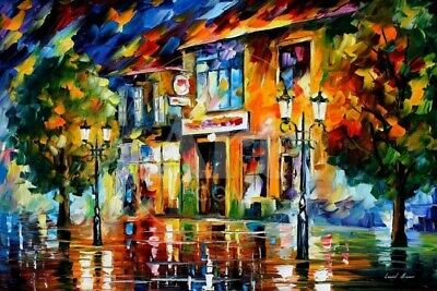 Bewitched Park by Leonid Afremov Print Size 36 x 24 AP15414659