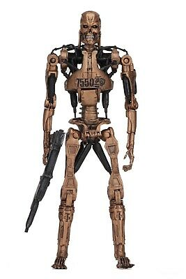 "Terminator 2 - 7"" Scale Figure - Kenner Tribute - Metal Mash Endoskeleton - NECA"