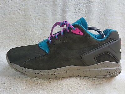 newest collection c1c23 723fb Nike Koth Ultra Low mens trainers Leather Khaki Grey Blue UK 8 EU 42.5