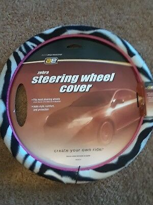 Auto Expressions 800002161  zebra Steering Wheel Cover