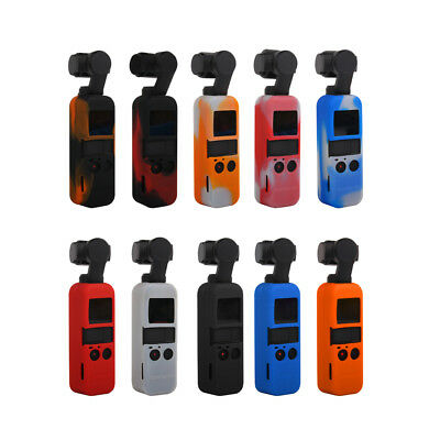 For DJI OSMO POCKET Camera Silicone Protective Case Cover Sling Strap Lanyard