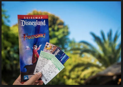 Disney World One Day Park Hopper Ticket - Quantity 1 Local Pick up Exp 01/31/201