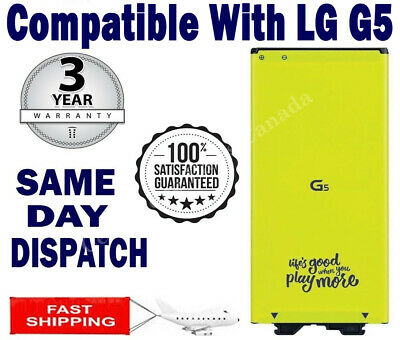 Original OEM LG G5 Replacement Battery H820 H860 H868 H960 BL-42D1F 2800mAh 3.8V