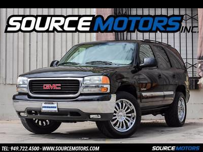 2004 GMC Yukon SLE 2004 GMC Yukon SLE, California Car, One Owner, Chrome Wheels UBER BLACK