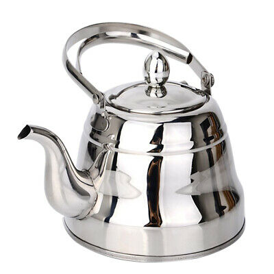 2L Stainless Steel Teakettle With Infuser for Stovetop Induction Cooker