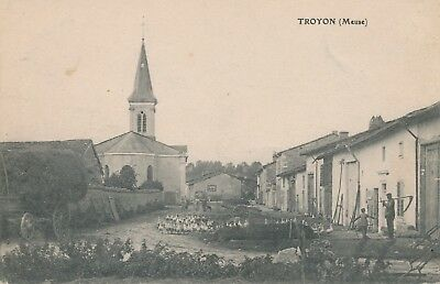 CPA - France - (55) Meuse - Troyon