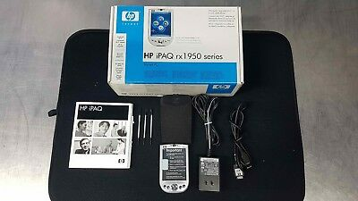 NEW IN BOX HP IPAQ RX1950 Pocket PC WITH ACCESSORIES, PDA, PORTABLE