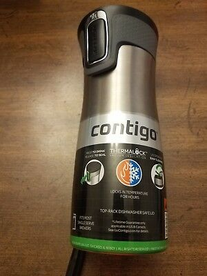 Contigo 16 oz. West Loop 2.0 Autoseal Stainless Steel Travel Mug NEW