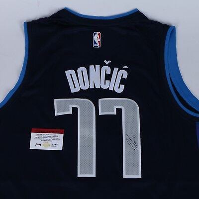 on sale 0403c ce83c LUKA DONCIC SIGNED jersey Dallas Mavericks Autographed LUKA Proof Rookie  COA ROY