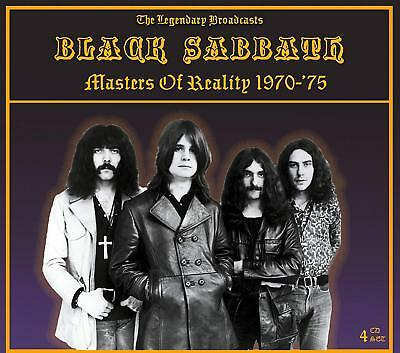 Black Sabbath - Masters Of Reality 1970-'75: The Legendary Broadcasts -4 Cd Set