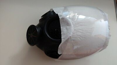 MSA 813861 Advantage 1000 Riot Control Gas Mask Large Blac