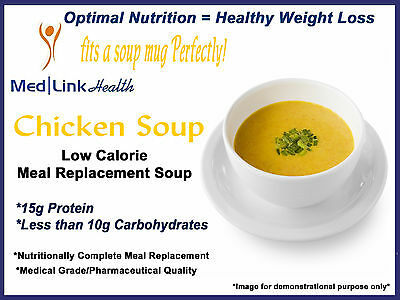 MEDLINKHEALTH CHICKEN SOUP MIX Meal Replacement Weight Loss | 1 Case